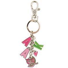 Alpha Kappa Alpha Charm Key Chains