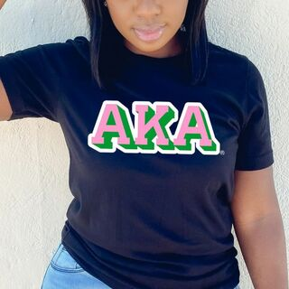 Alpha Kappa Alpha City Greek T-Shirt