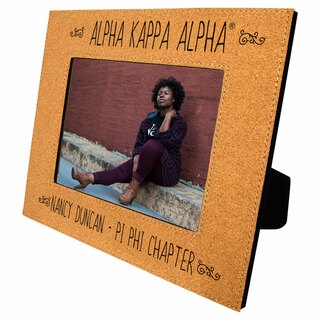 Alpha Kappa Alpha Cork Photo Frame