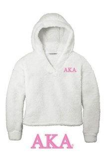 Alpha Kappa Alpha Cozy Fleece Hoodie