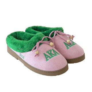 Alpha Kappa Alpha Cozy Slipper