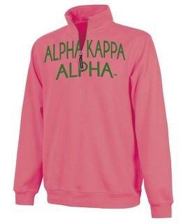 Alpha Kappa Alpha Crosswind Over Zipper Quarter Zipper Sweatshirt
