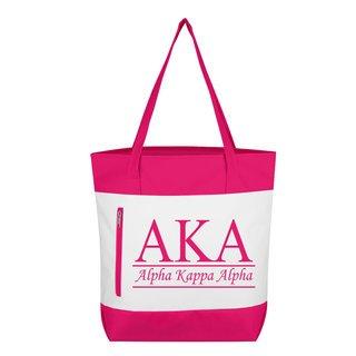 Alpha Kappa Alpha New Game Day Tote
