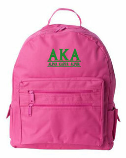 Alpha Kappa Alpha Custom Text Backpack