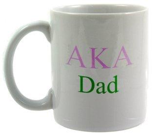 Alpha Kappa Alpha Dad Coffee Cup