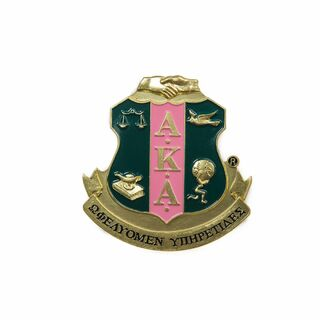 Alpha Kappa Alpha Die Cut Car Badges