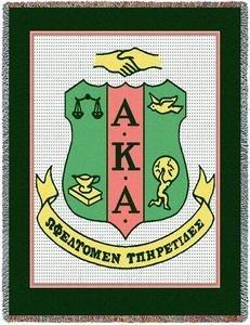Alpha Kappa Alpha Elite Afghan Blanket