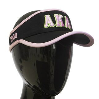 Alpha Kappa Alpha Feather Light Visor