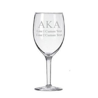 Alpha Kappa Alpha Goblet (2 to a Set)