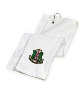 DISCOUNT-Alpha Kappa Alpha Golf Towel