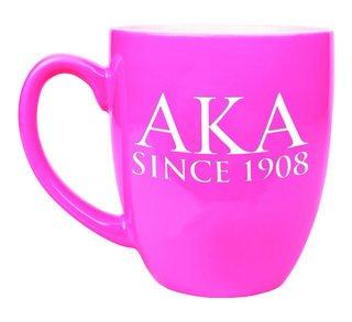 Alpha Kappa Alpha Greek Bistro Mug