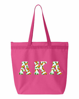 Alpha Kappa Alpha Greek Letter Liberty Bag