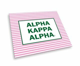 Alpha Kappa Alpha Striped Mousepads