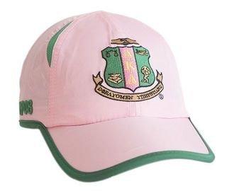 Alpha Kappa Alpha Hat - Featherlight Cap w/Shield