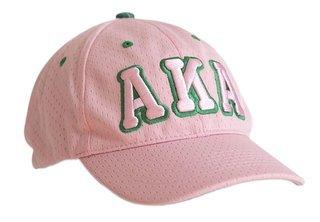 Alpha Kappa Alpha Hat - 3 Letter Flexfit Cap