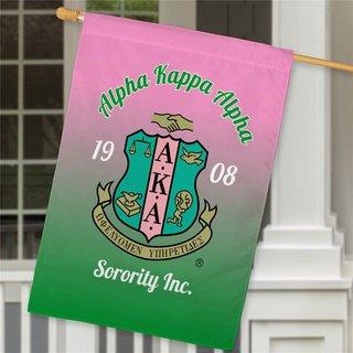 Alpha Kappa Alpha House Flag