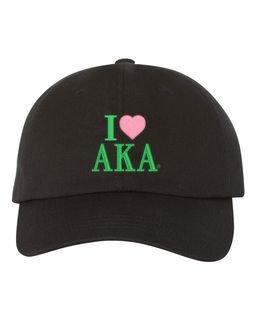 Alpha Kappa Alpha I Love Hat