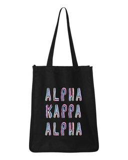 Alpha Kappa Alpha Jumbo All In Tote Bag