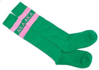 Alpha Kappa Alpha Knee Socks