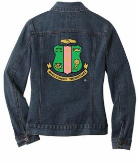 Alpha Kappa Alpha Ladies Denim Jacket