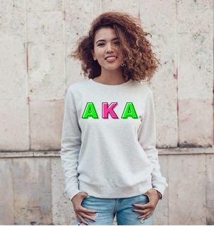 Alpha Kappa Alpha Leah Crew Sweatshirt
