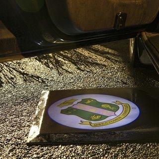 Alpha Kappa Alpha LED Car Door Light Set