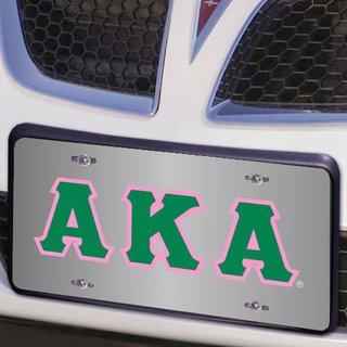Alpha Kappa Alpha Lettered License Cover