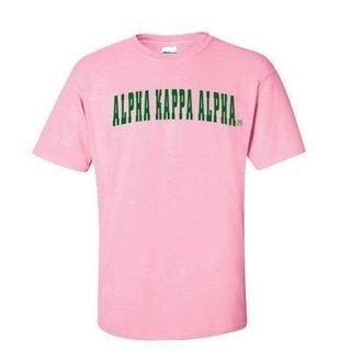 Alpha Kappa Alpha Letterman T-Shirts