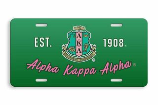 Alpha Kappa Alpha License Cover