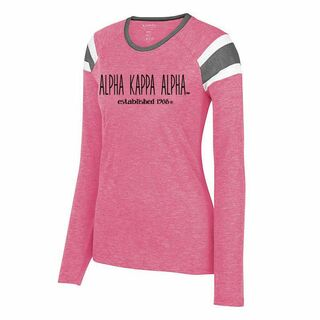 Alpha Kappa Alpha Long Sleeve Fanatic Tee