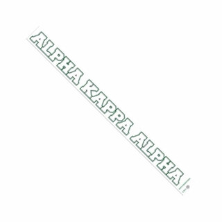 Alpha Kappa Alpha Long Window Decals Stickers