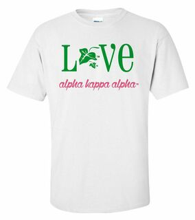 Alpha Kappa Alpha Love Mascot T-Shirt