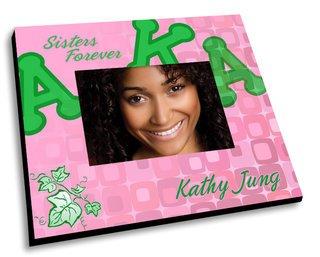 Alpha Kappa Alpha Mascot Color Picture Frame