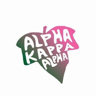 Alpha Kappa Alpha Mascot Greek Letter Sticker