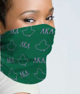 Alpha Kappa Alpha Neck Gaiters