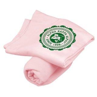 Alpha Kappa Alpha Old School Seal Sweatshirt Blanket