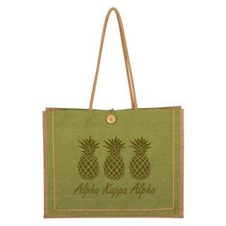 Alpha Kappa Alpha Paradise Jute Bag
