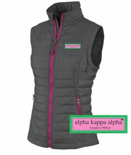 Alpha Kappa Alpha Preppy Patch Radius Vest