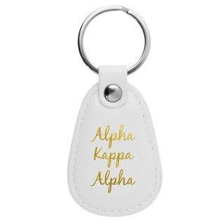 Alpha Kappa Alpha Retro Key Chain