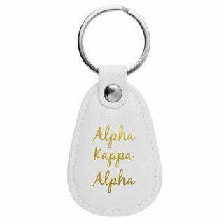 Alpha Kappa Alpha Retro Key Chain