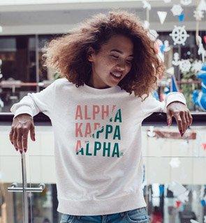 Alpha Kappa Alpha Ripped Favorite Crewneck