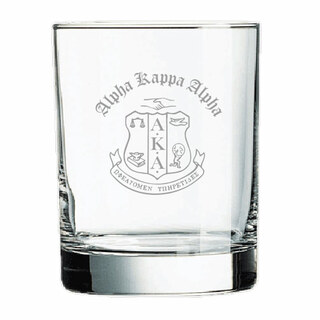 Alpha Kappa Alpha Old Style Glass