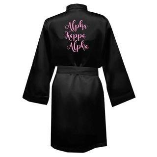 Alpha Kappa Alpha Satin Robe - Limited Quantity