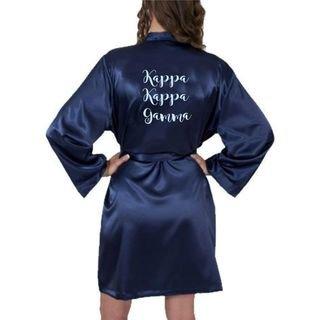 Kappa Kappa Gamma Satin Robe - Limited Quantity