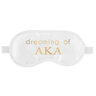 Alpha Kappa Alpha Satin Sleep Masks