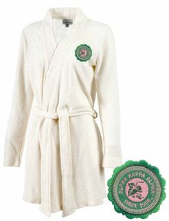 DISCOUNT-Alpha Kappa Alpha Sorority Cozy Robe