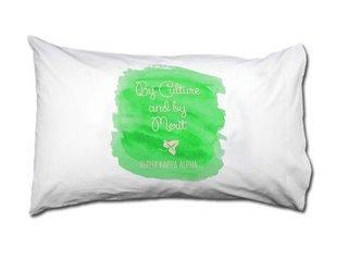 Alpha Kappa Alpha Motto Watercolor Pillowcase