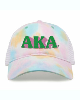 Alpha Kappa Alpha Sorority Sorbet Tie Dyed Twill Hat