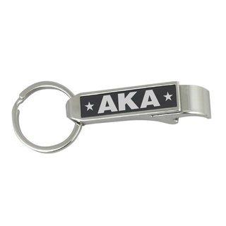 Alpha Kappa Alpha Stainless Steel Bottle Opener Key Chain