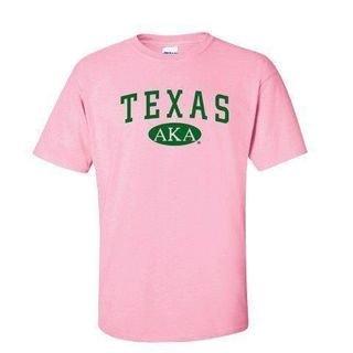 Alpha Kappa Alpha Custom State T-Shirts